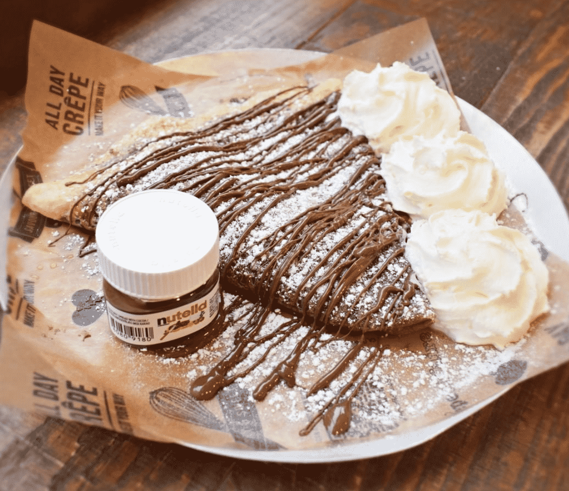 Nutella Pancakes Breakfast In London