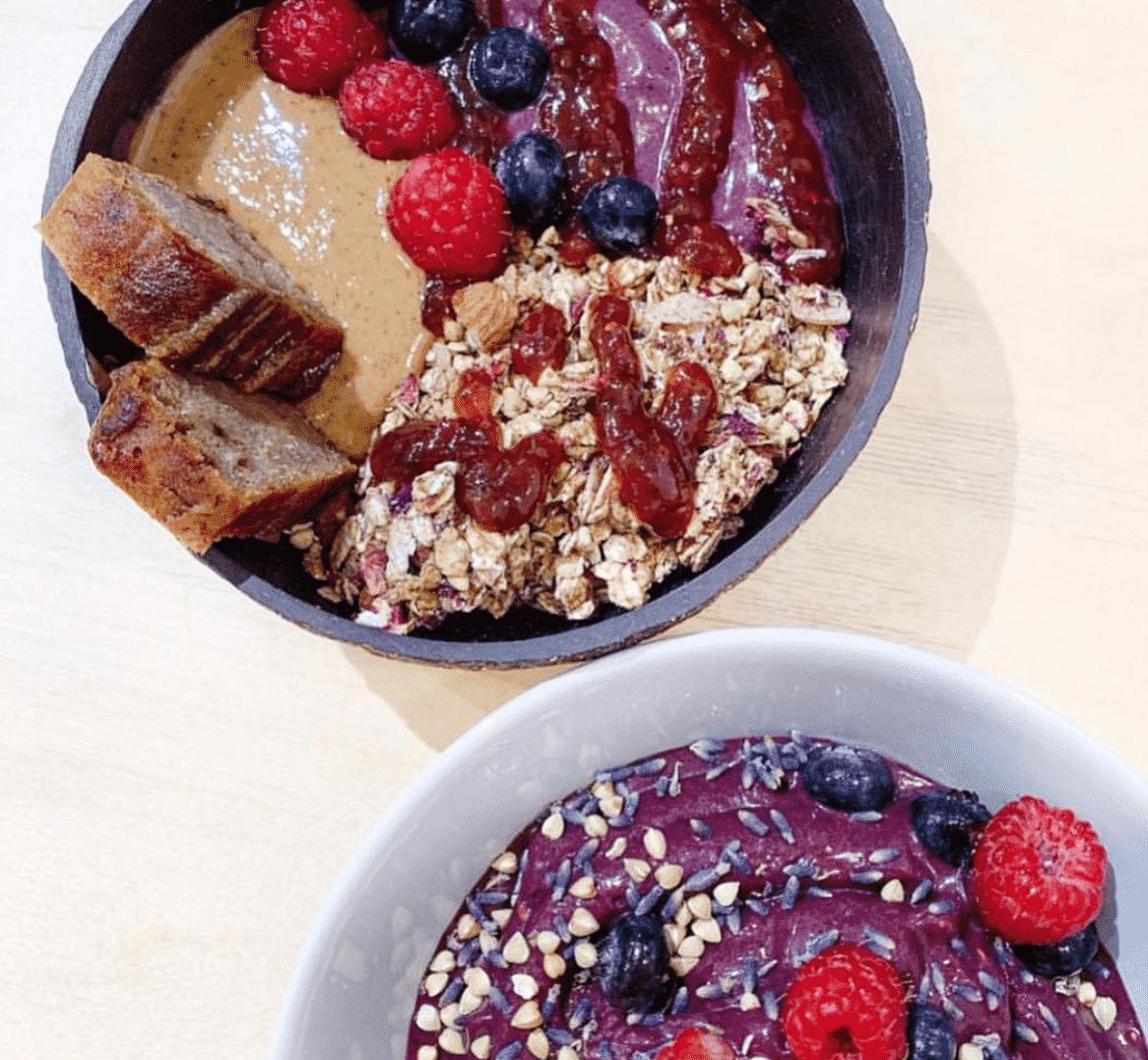 Acai Bowl Breakfast In London