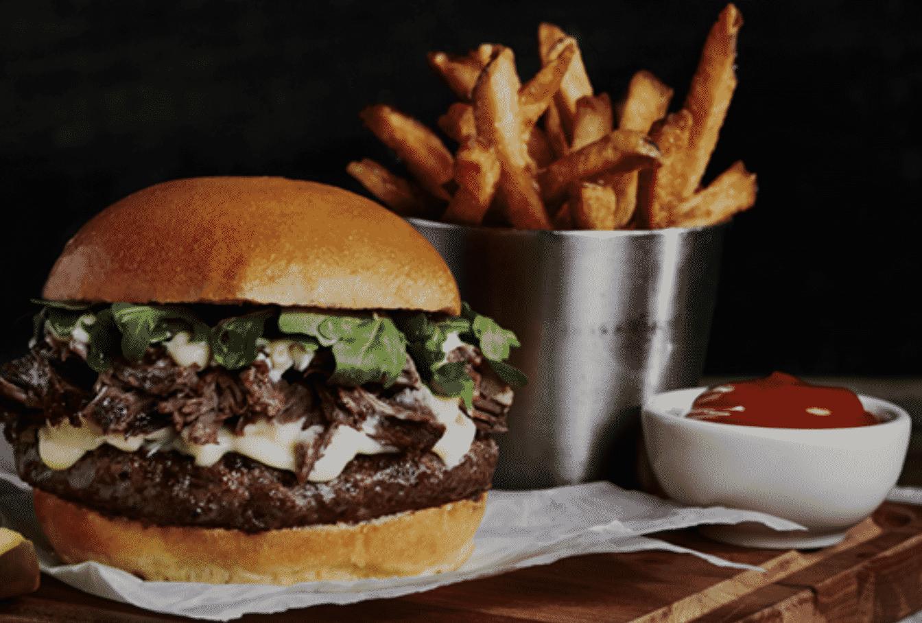 Heck's Café Burger
