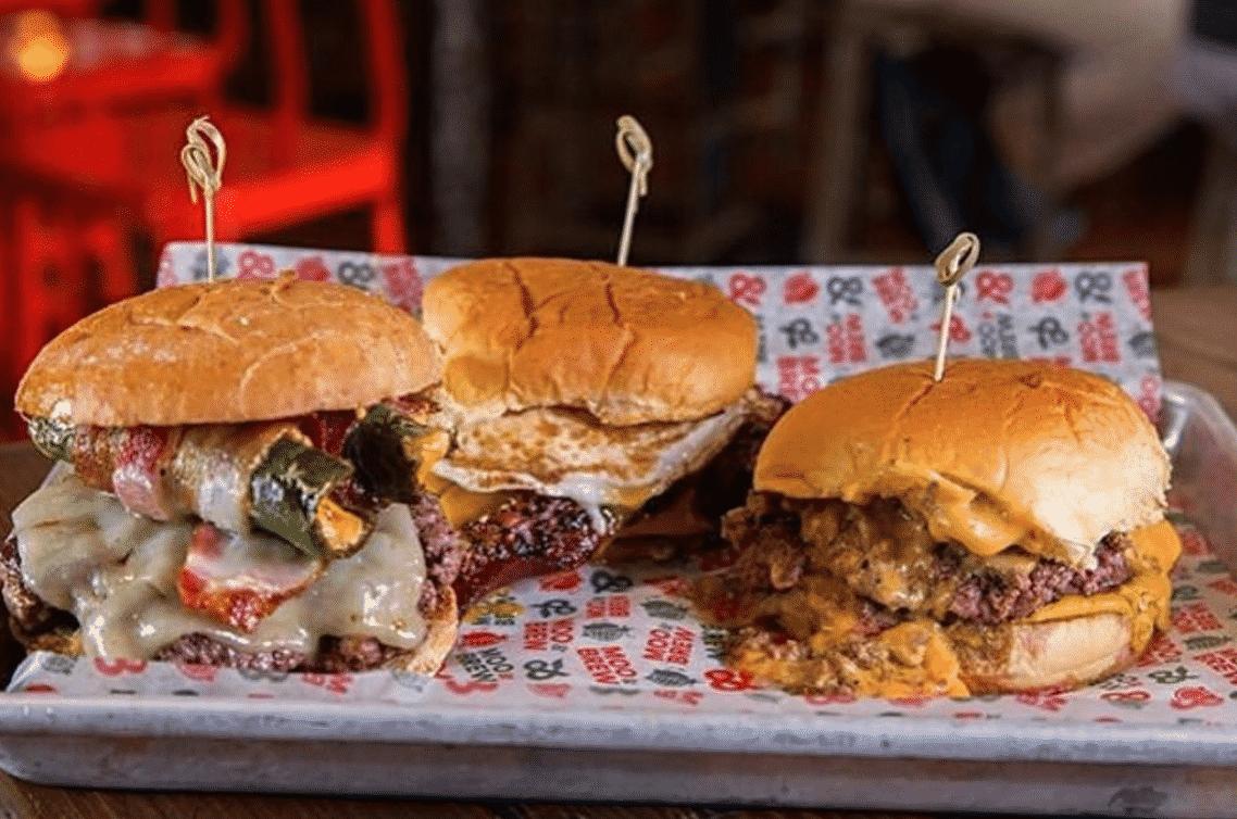 Moo & Brew Burgers in North Carolina Burgers