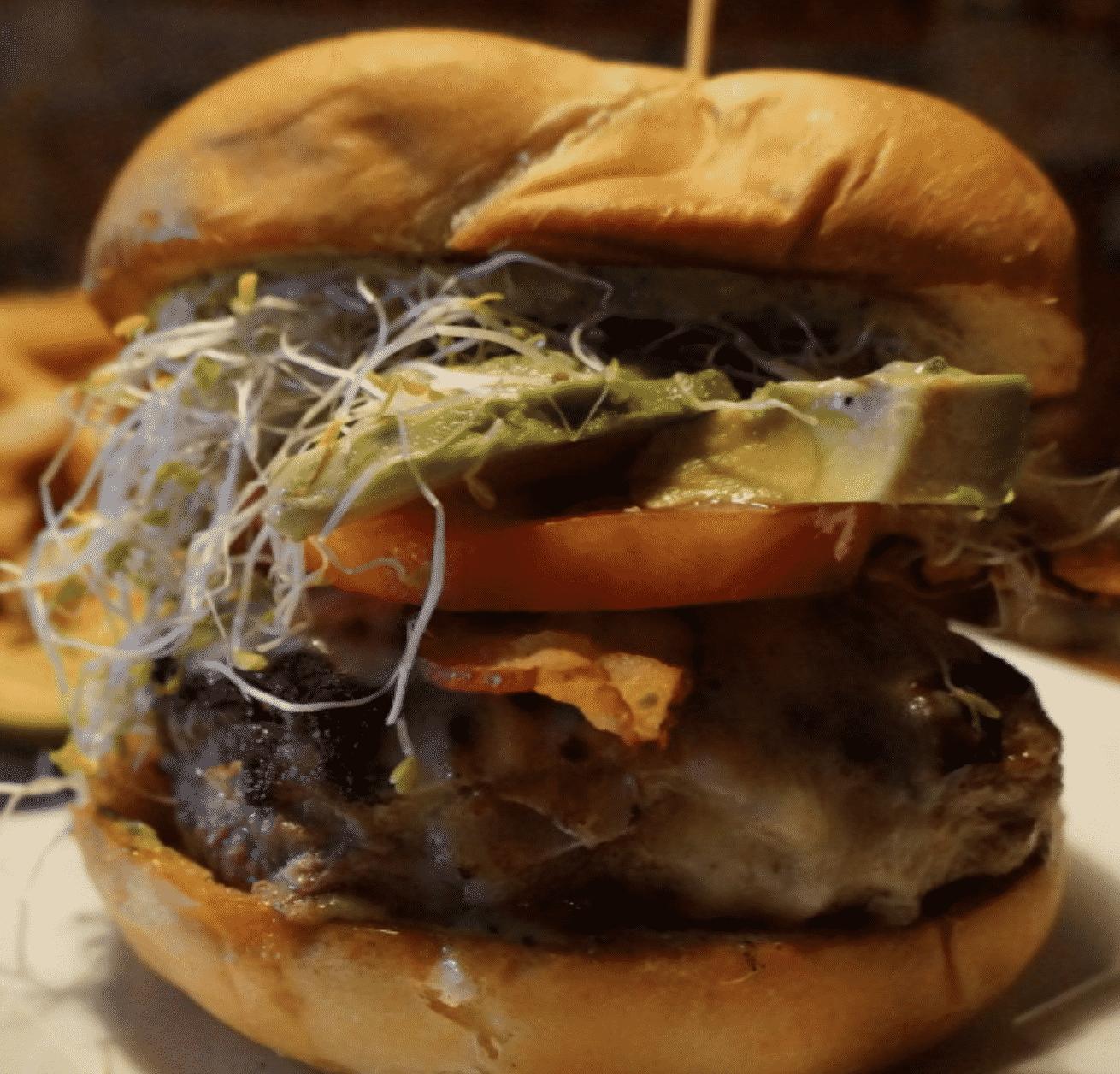 The Fork 'N' Cork Burger North Carolina Burgers