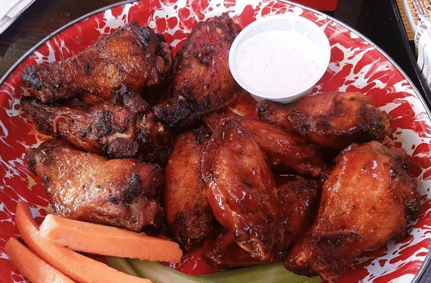 Jethro's BBQ Chicken Wings