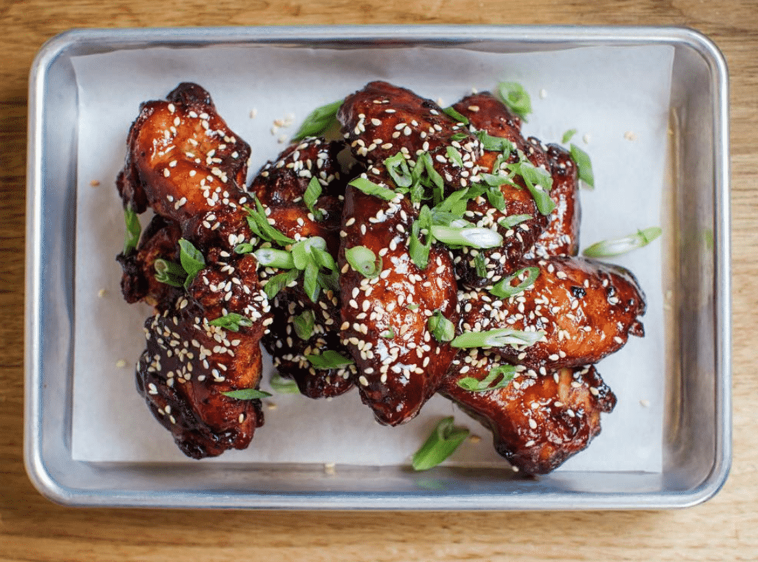 Bluebird Barbecue Chicken Wings In USA