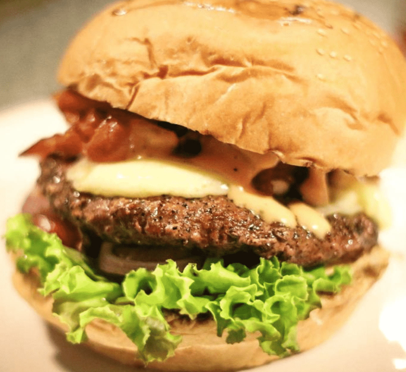 Green Tamarind Kitchen Burger