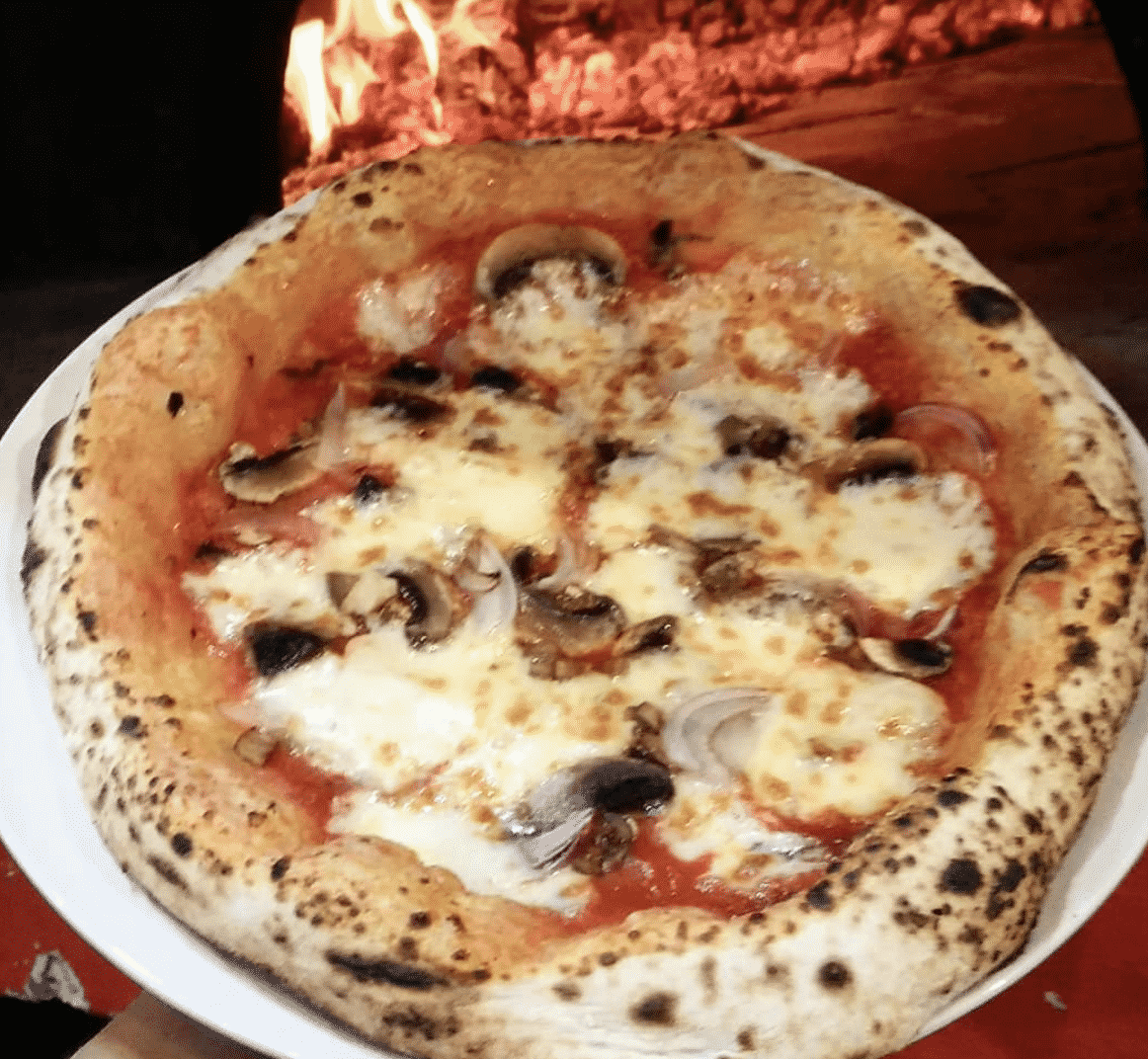 Wood-fired Oven Pizza in KL