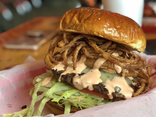 Bulldogs Grill Burgers