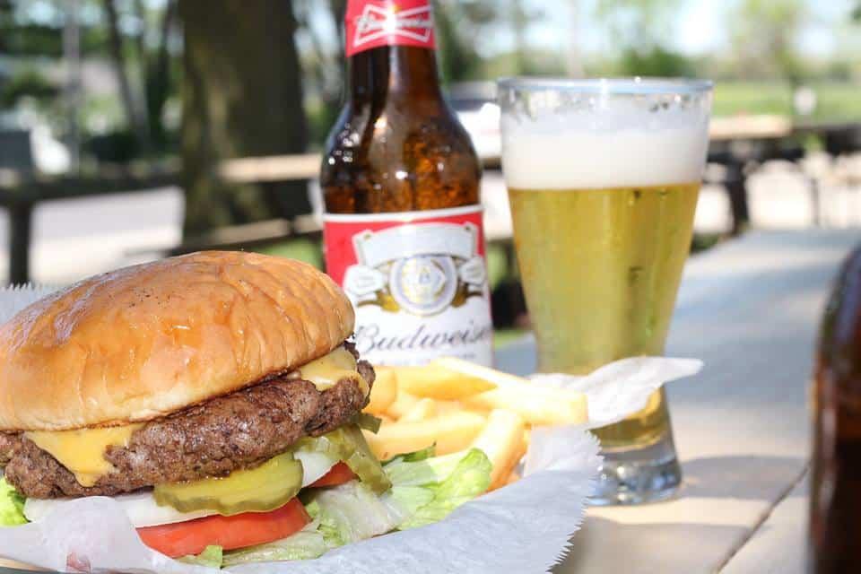 Ludy's Kickapoo Creek Saloon Burgers
