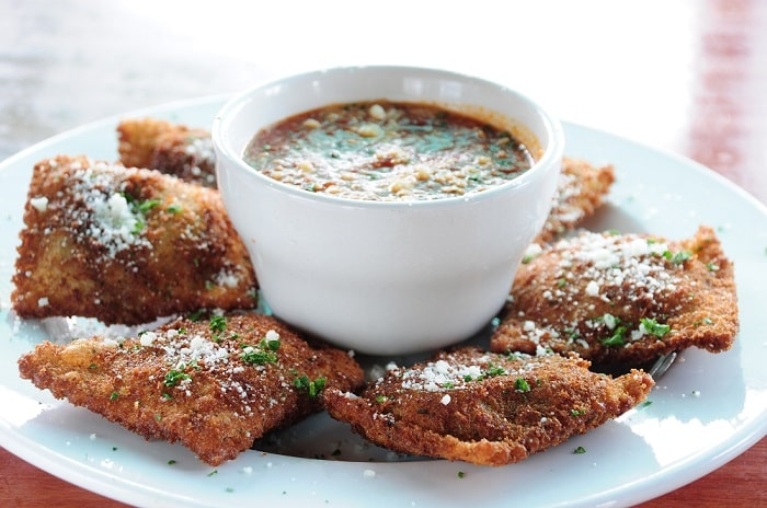 Toasted Ravioli in St Louis