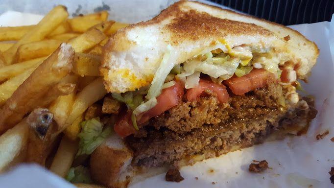 The Red Eyed Mule Hamburger