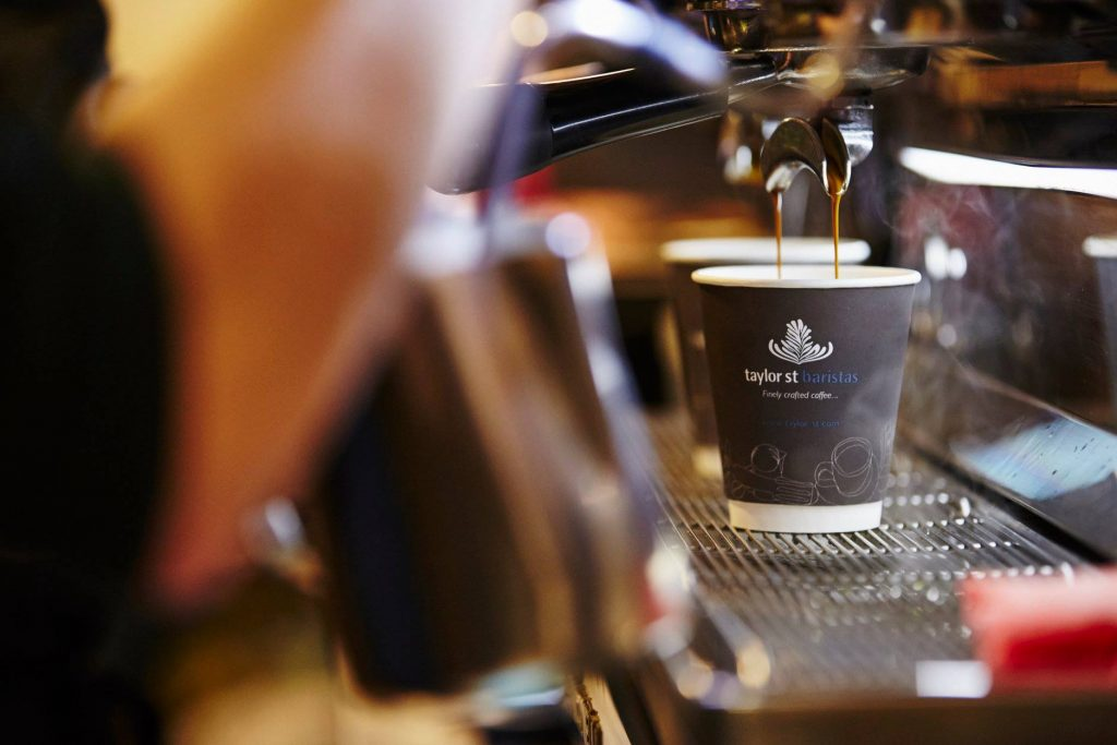 Taylor St Baristas Coffee in England