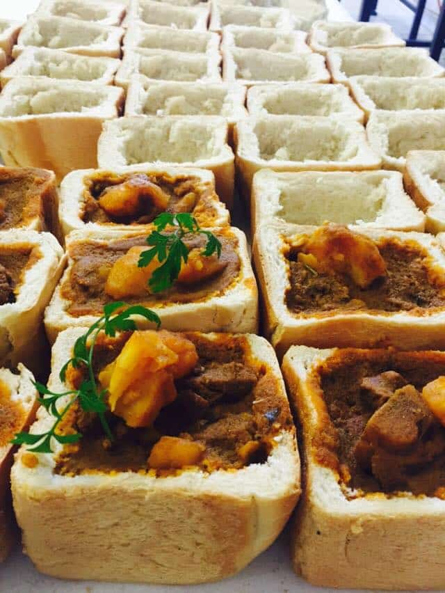 Bunny Chow in Cape Town