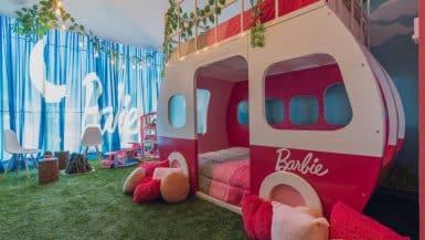 Barbie hotel suite