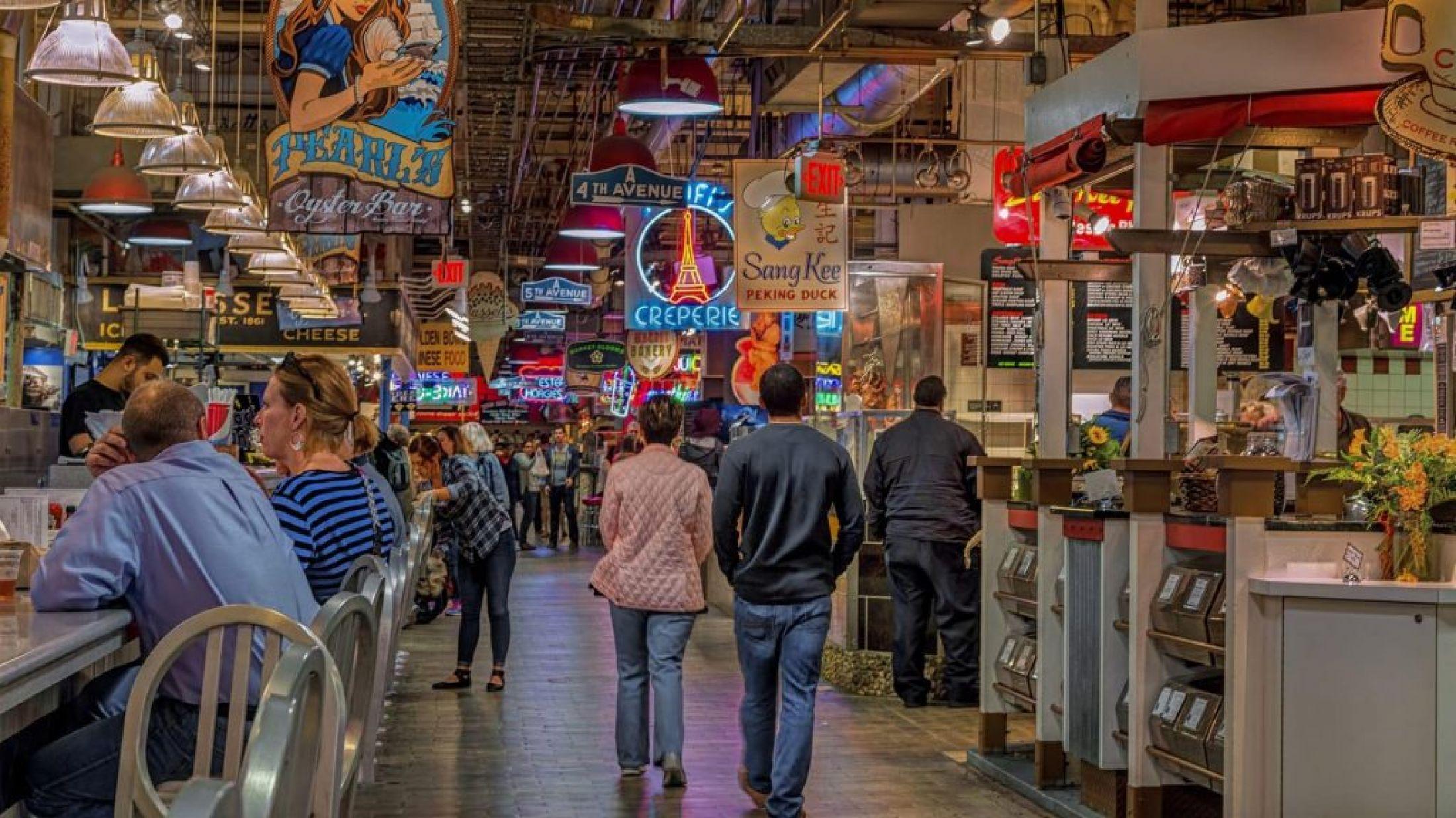 Reading Terminal Market in Philadelphia