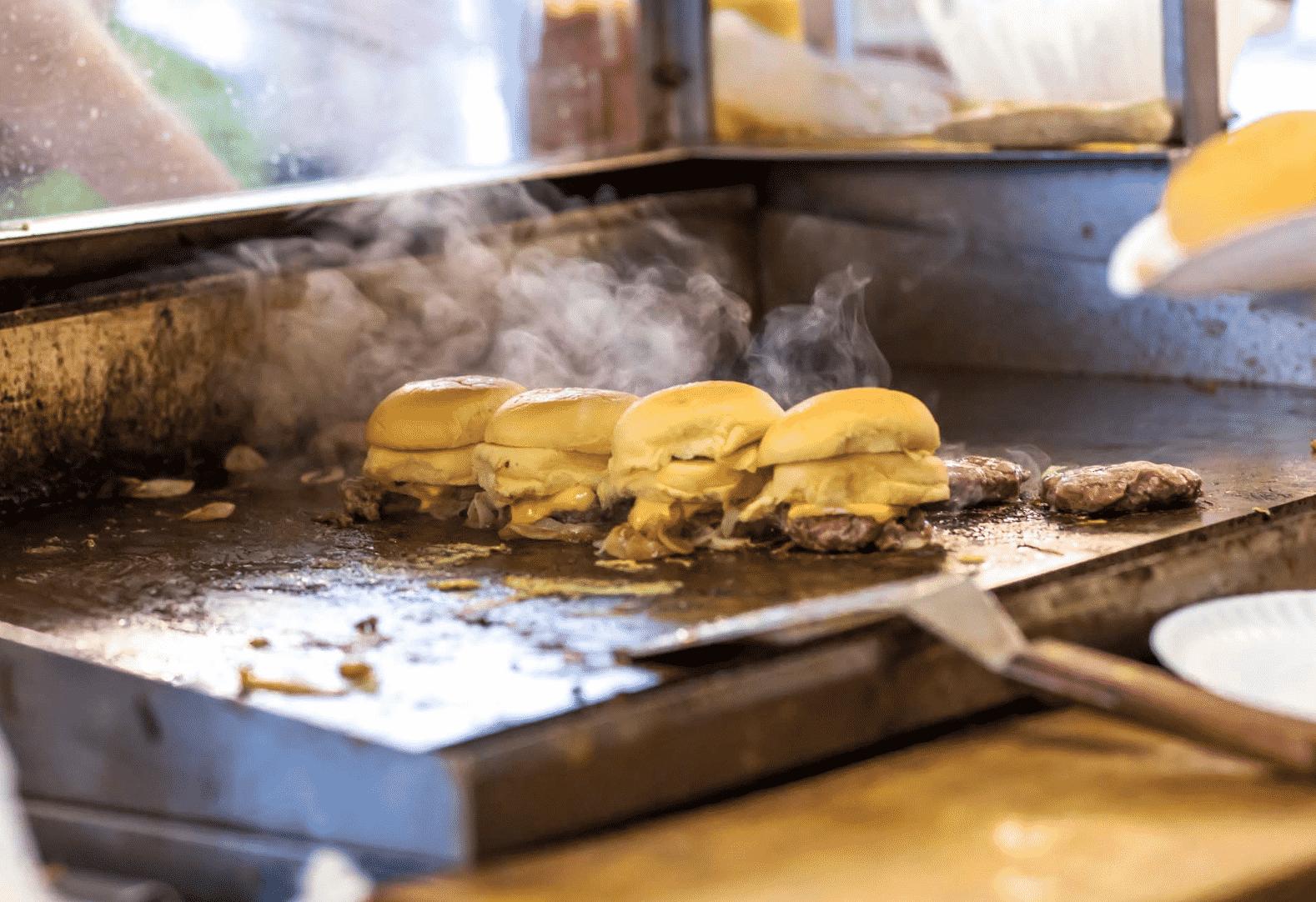White Manna Burger in New Jersey