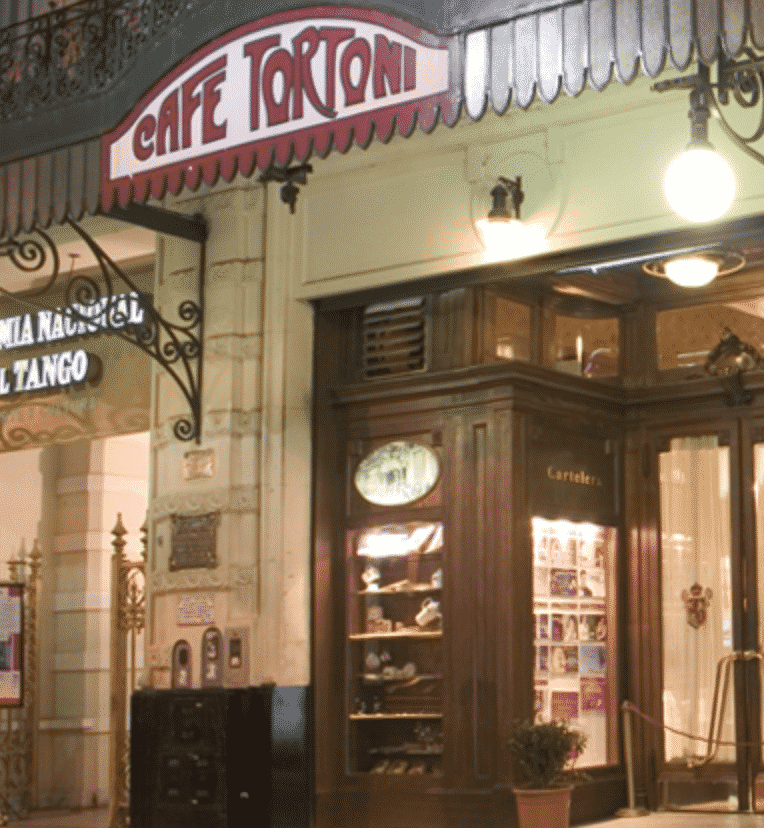 Café Tortoni in Buenos Aires