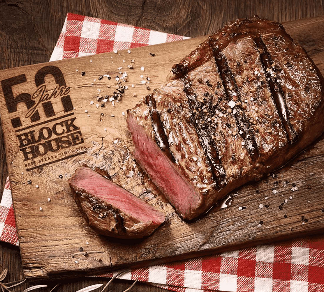 Block House Steaks In Europe