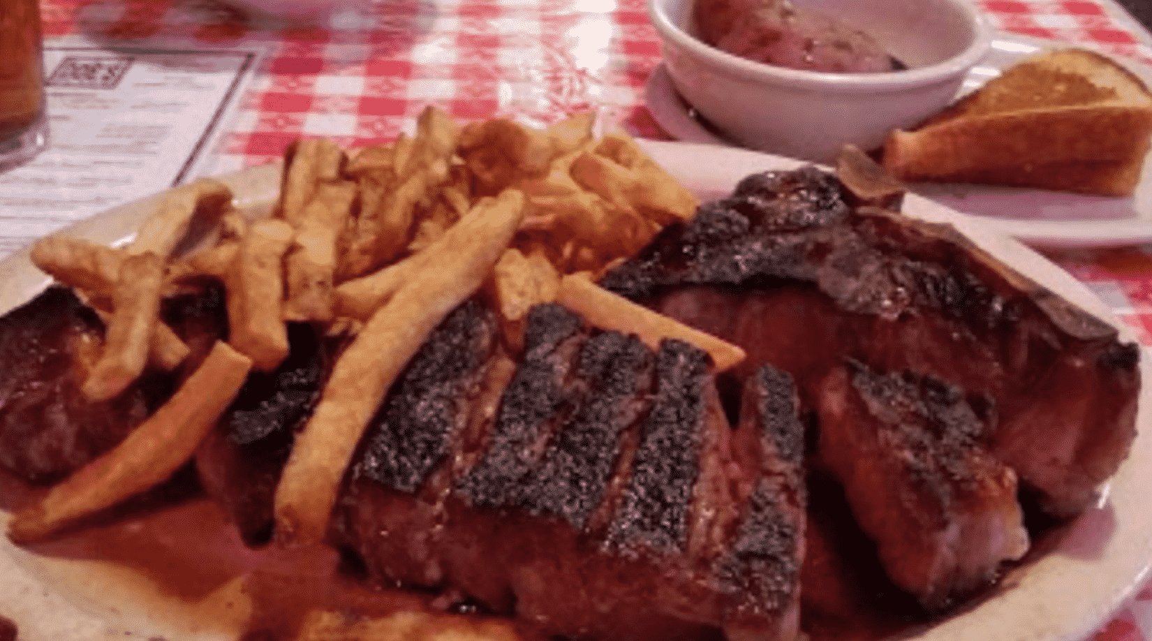 Doe's Eat Place Steak