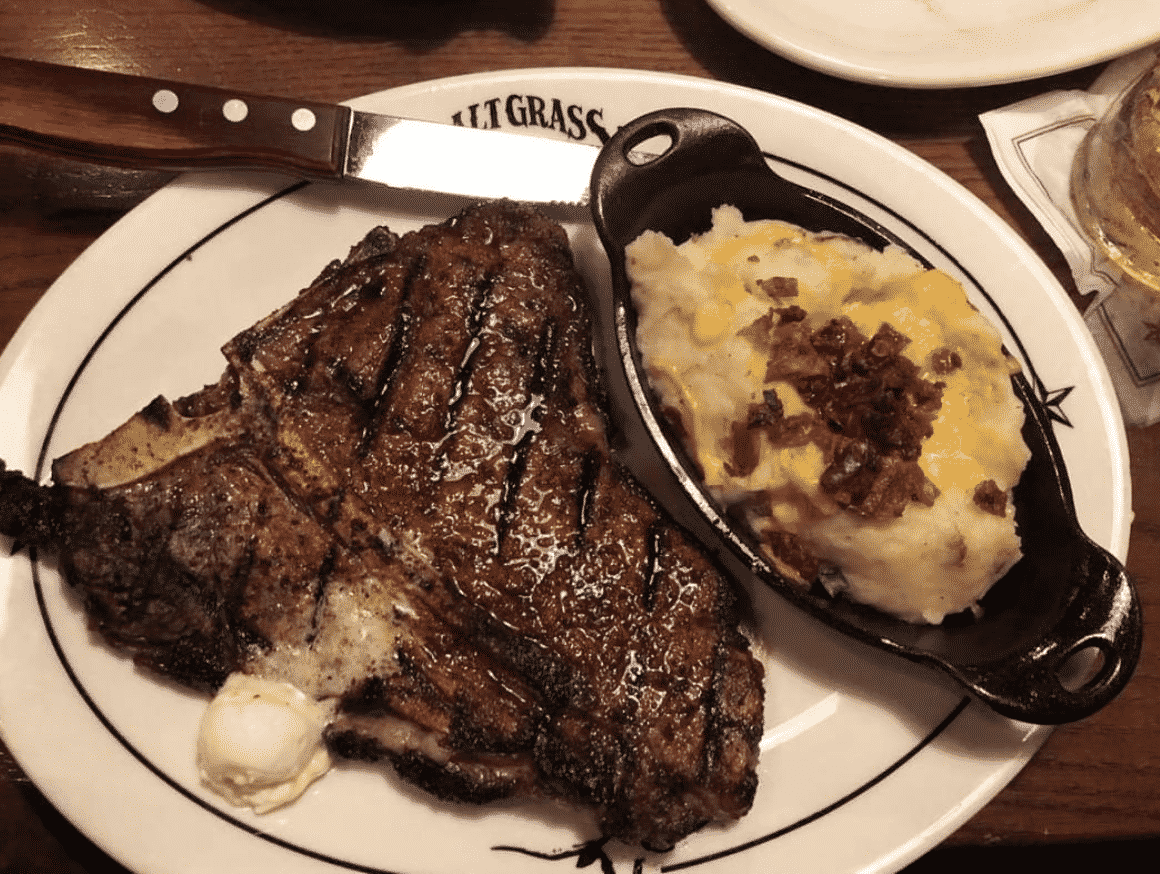 Saltgrass Steak House in America