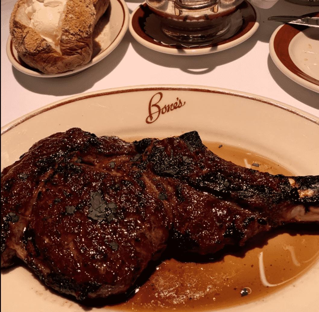 Bones Restaurant in America
