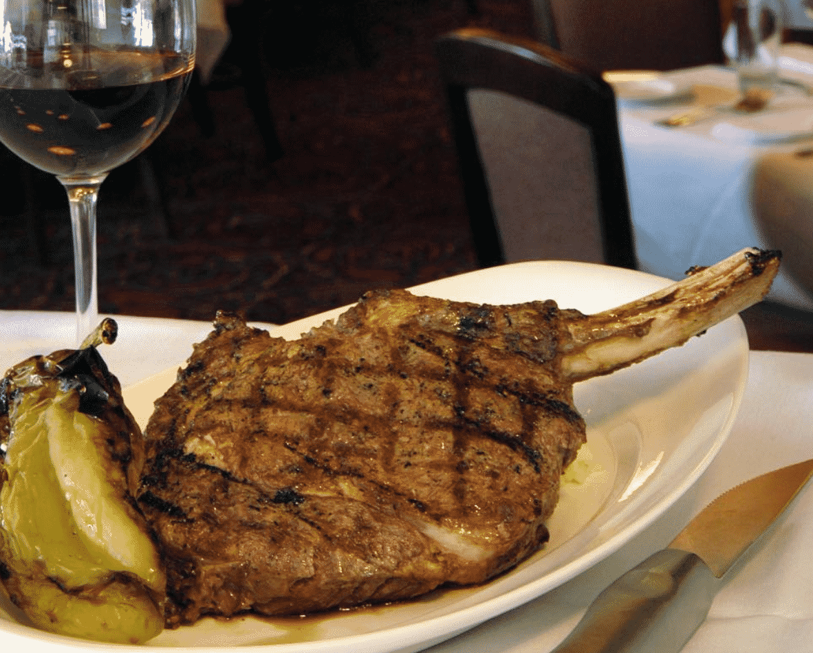 Delmonico's Steakhouse in America
