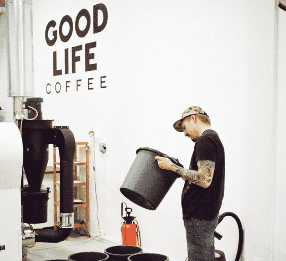 Good Life Coffee in Helsinki