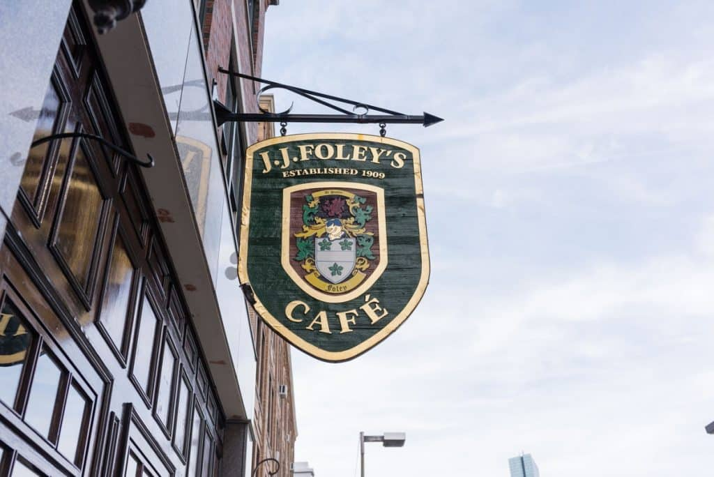JJ Foley's Bar in Boston