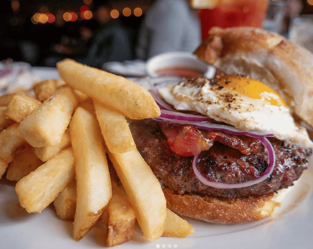 South Philadelphia Tap Room Burgers