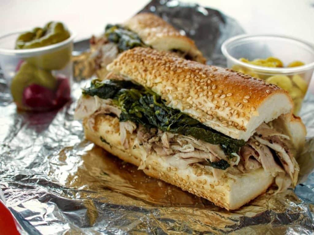 Roast Pork Sandwich Philadelphia Foodie