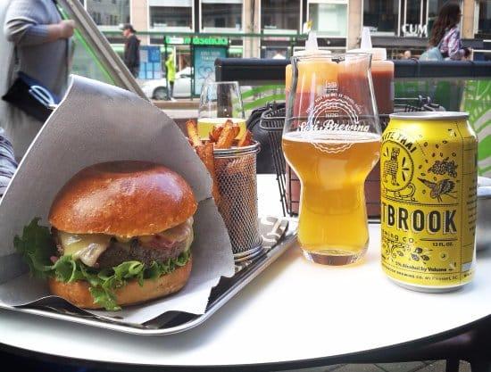 Sori Taproom Hamburger