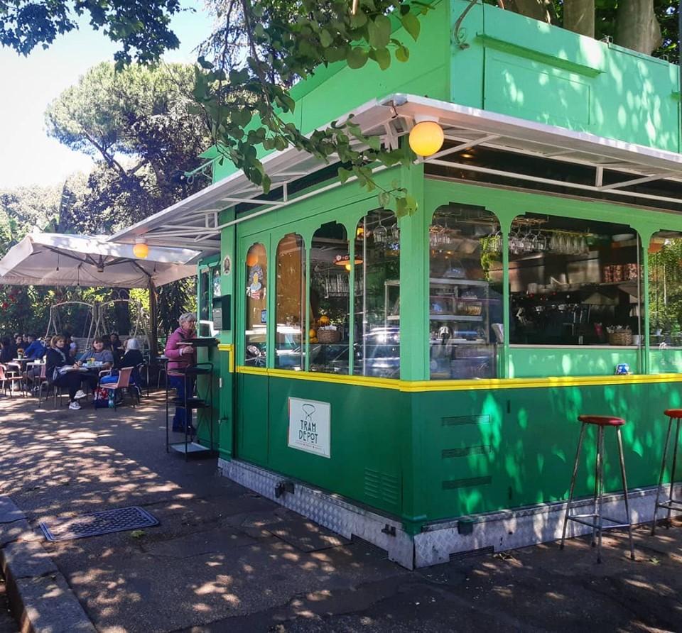 Tram Depot in Rome