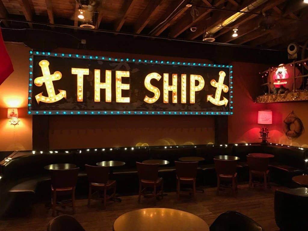 The Ship Bar in Kansas