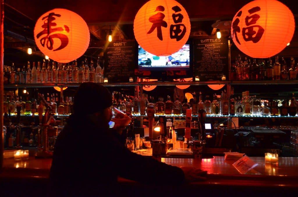 Shanghai Tunnel Dive Bar in America