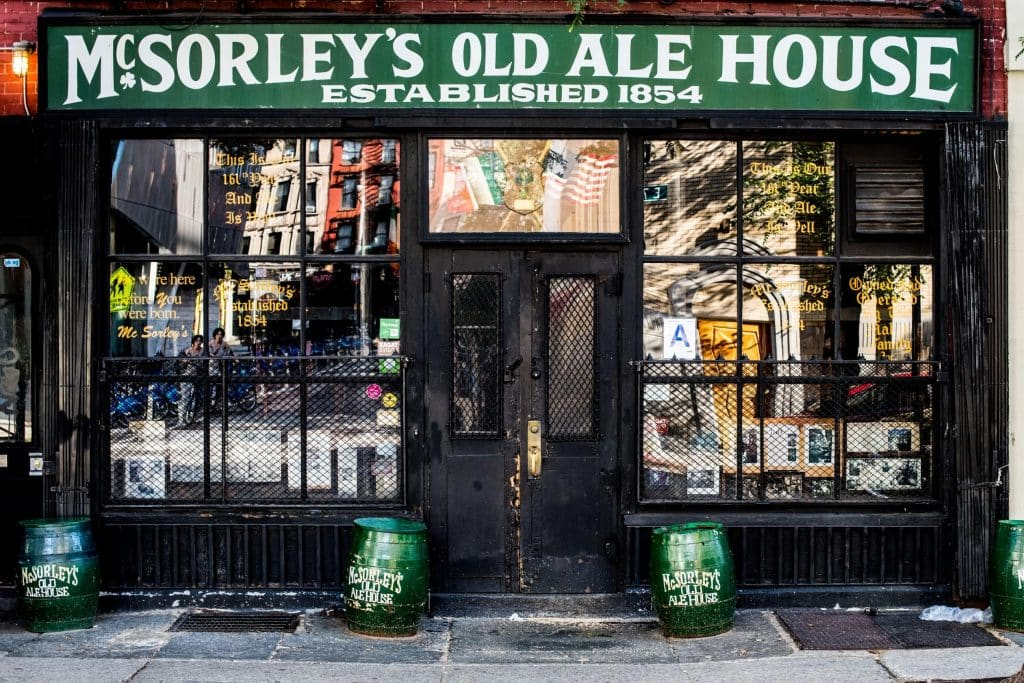 McSorley's Old Ale House in NY