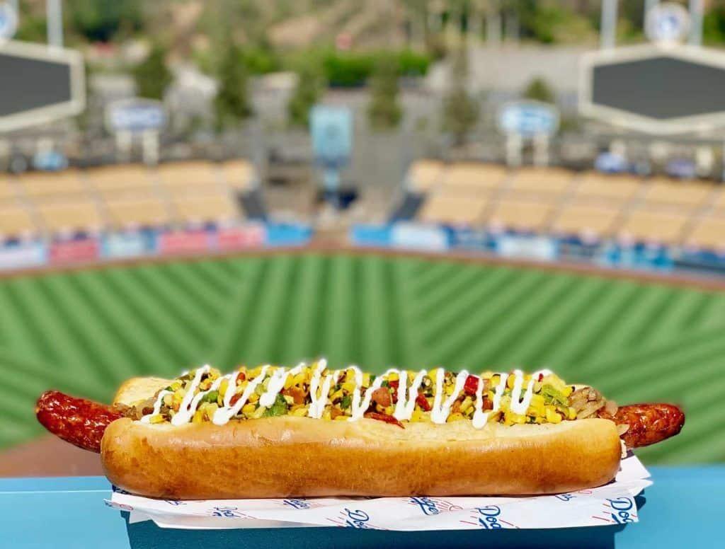 Dodger Stadium in Los Angeles