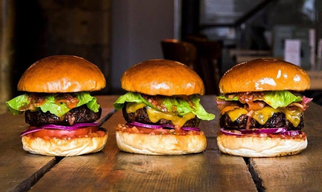 Best burgers Edinburgh