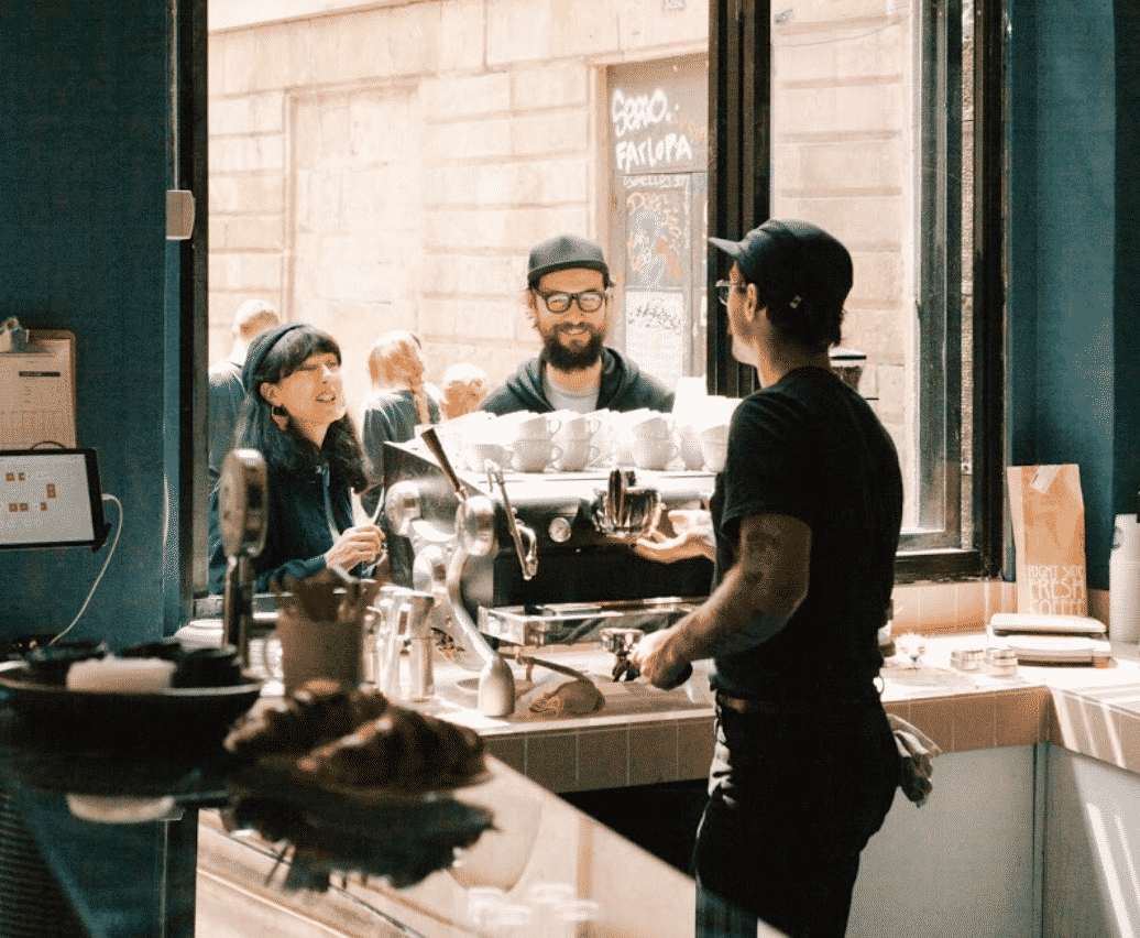 Satan's Coffee Store in Barcelona