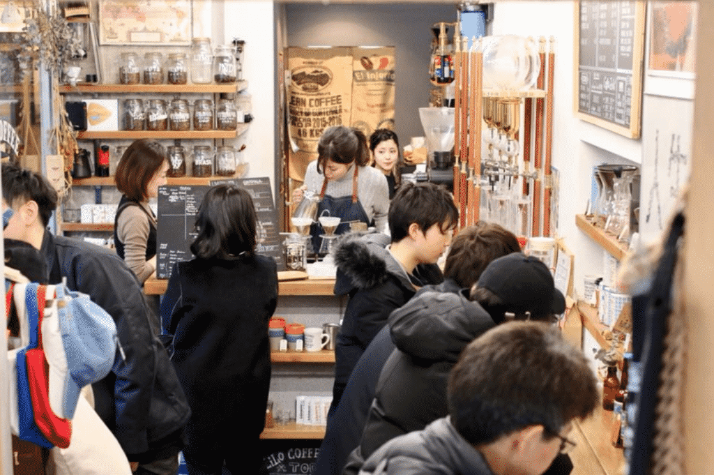 LiLo Coffee Roasters in Osaka