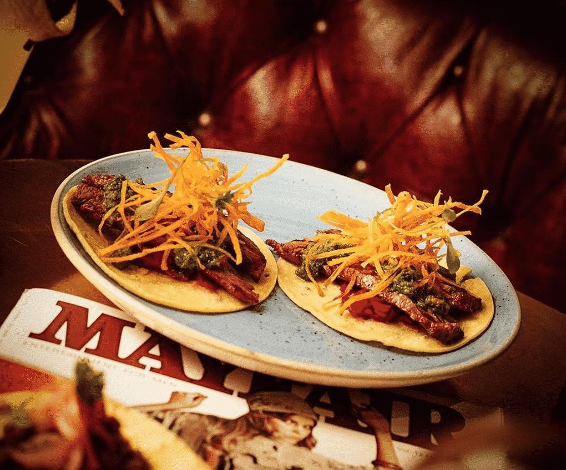London tacos