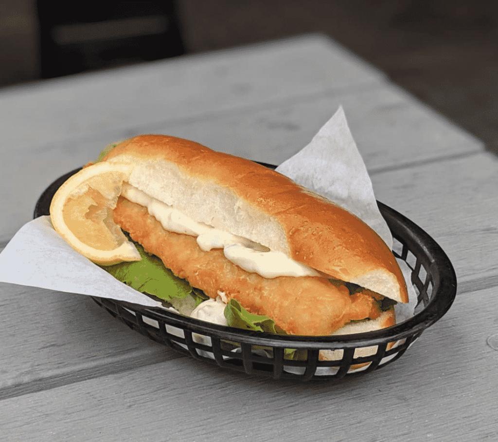Levant Eatery Sandwich