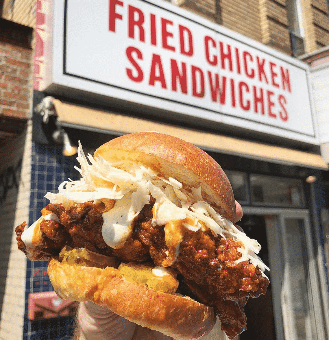 . Fried Chicken Sandwich