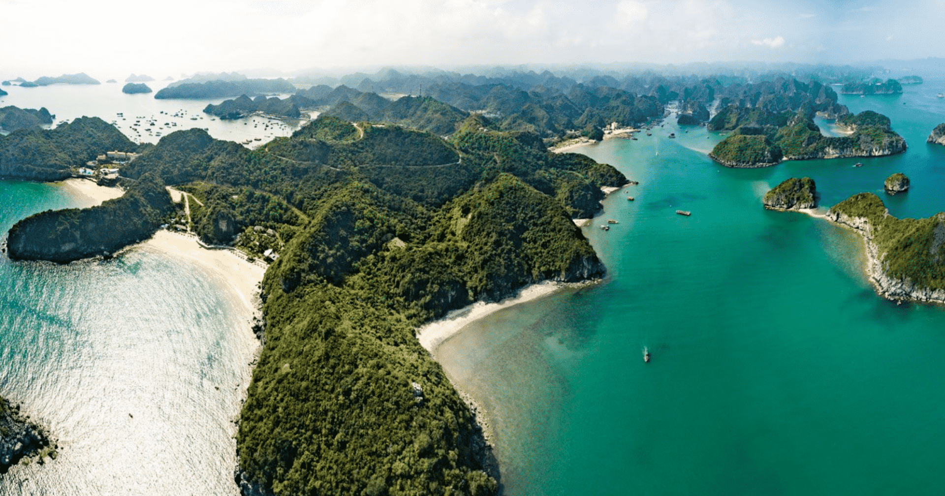 Vietnam's Famous Halong Bay Helicopter