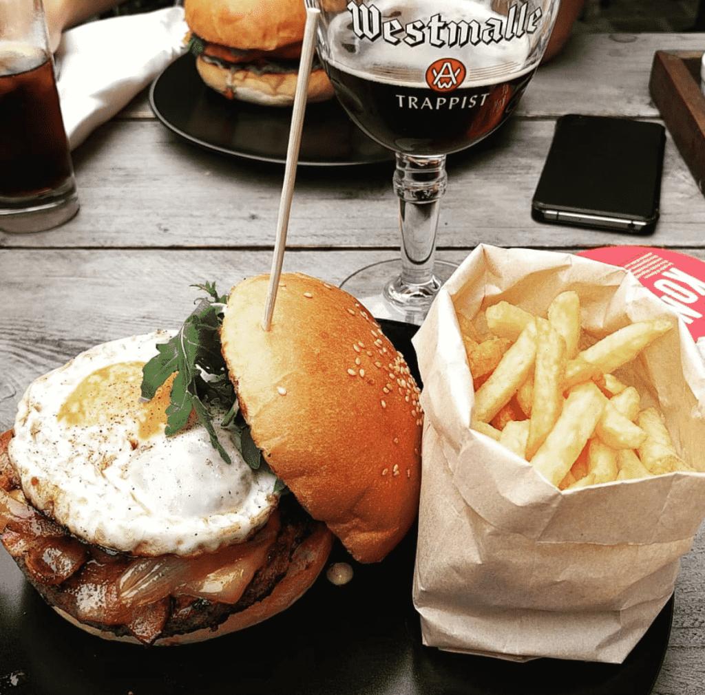 Best burgers Ghent