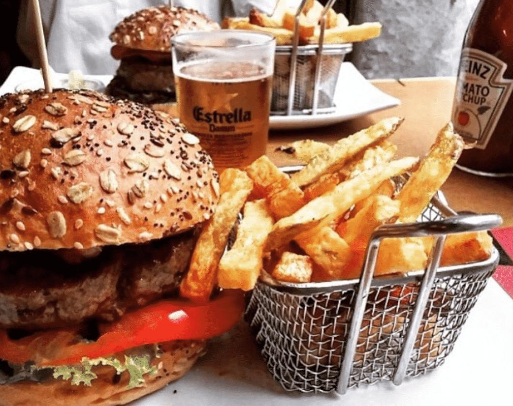 Zombie Bar Hamburger