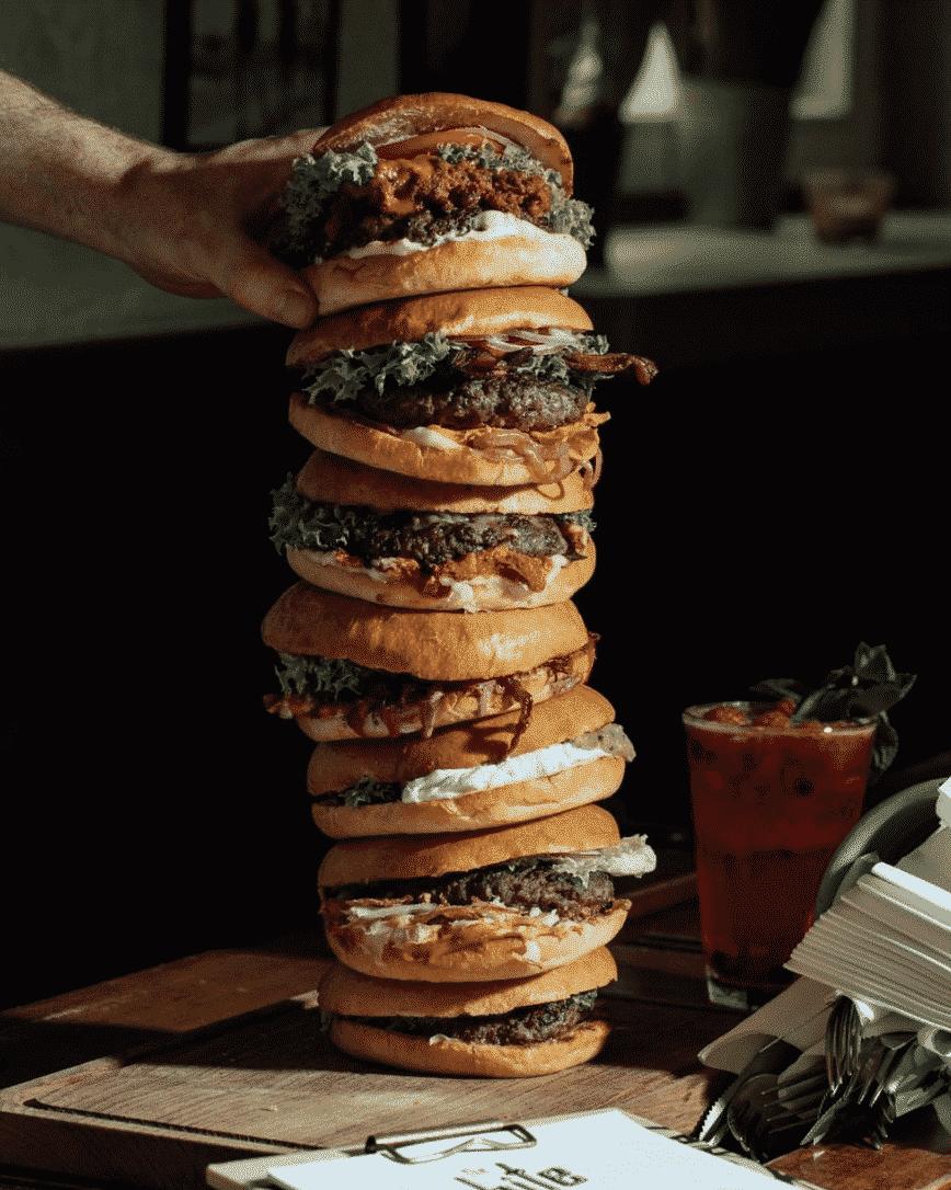 The Bite Hamburger