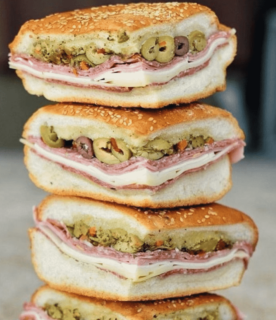 Muffuletta in New Orleans