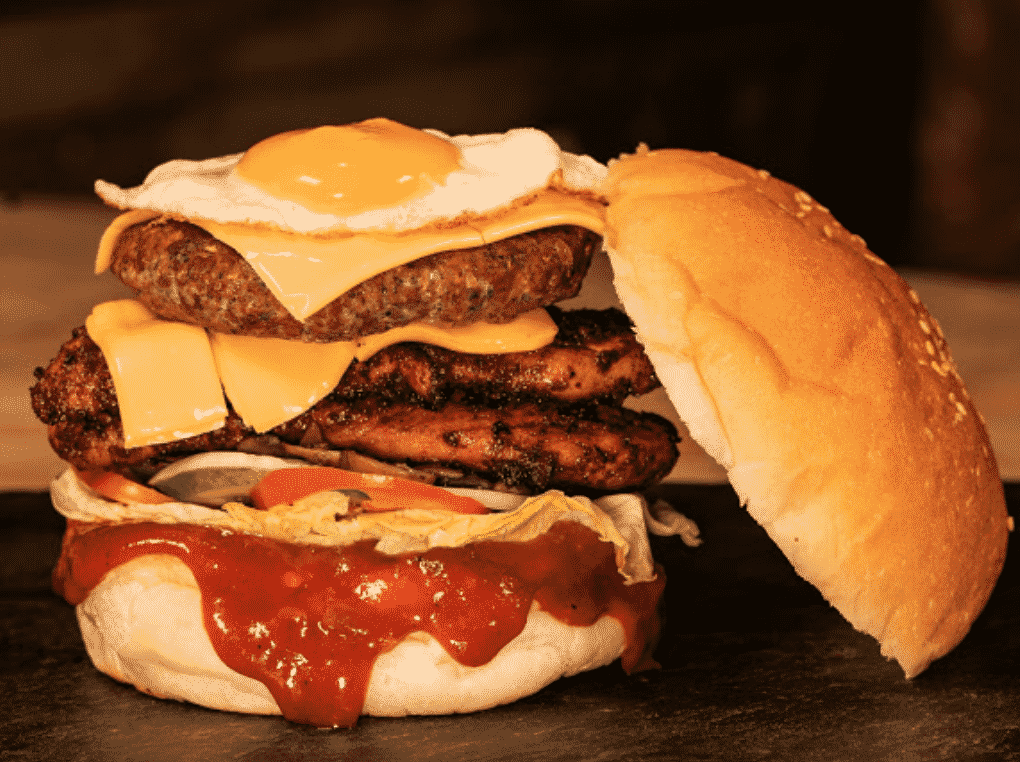 Charcoal Mouthwatering Burgers