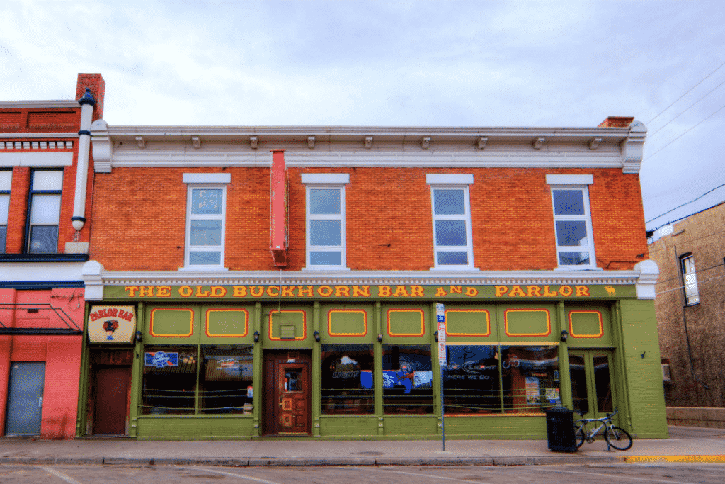 The Buckhorn Bar & Parlor in Wyoming