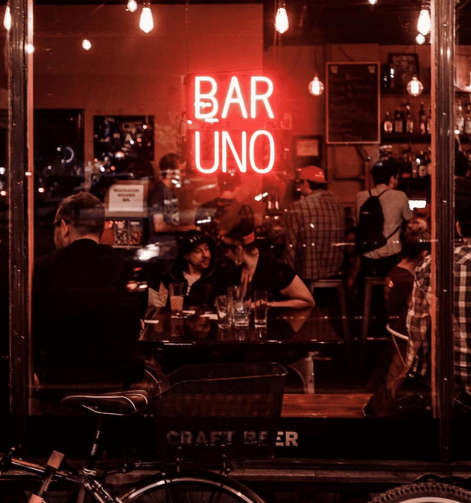 Bar Uno in Mexico