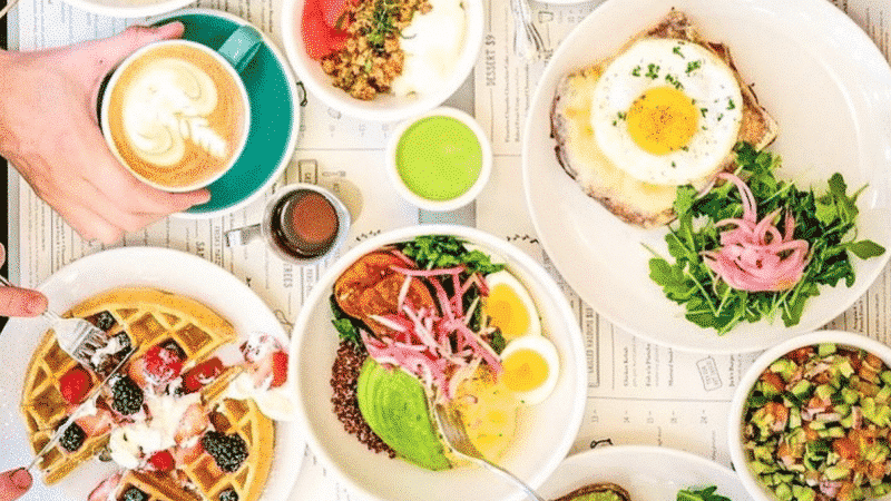 The Top 50 Places in American brunch