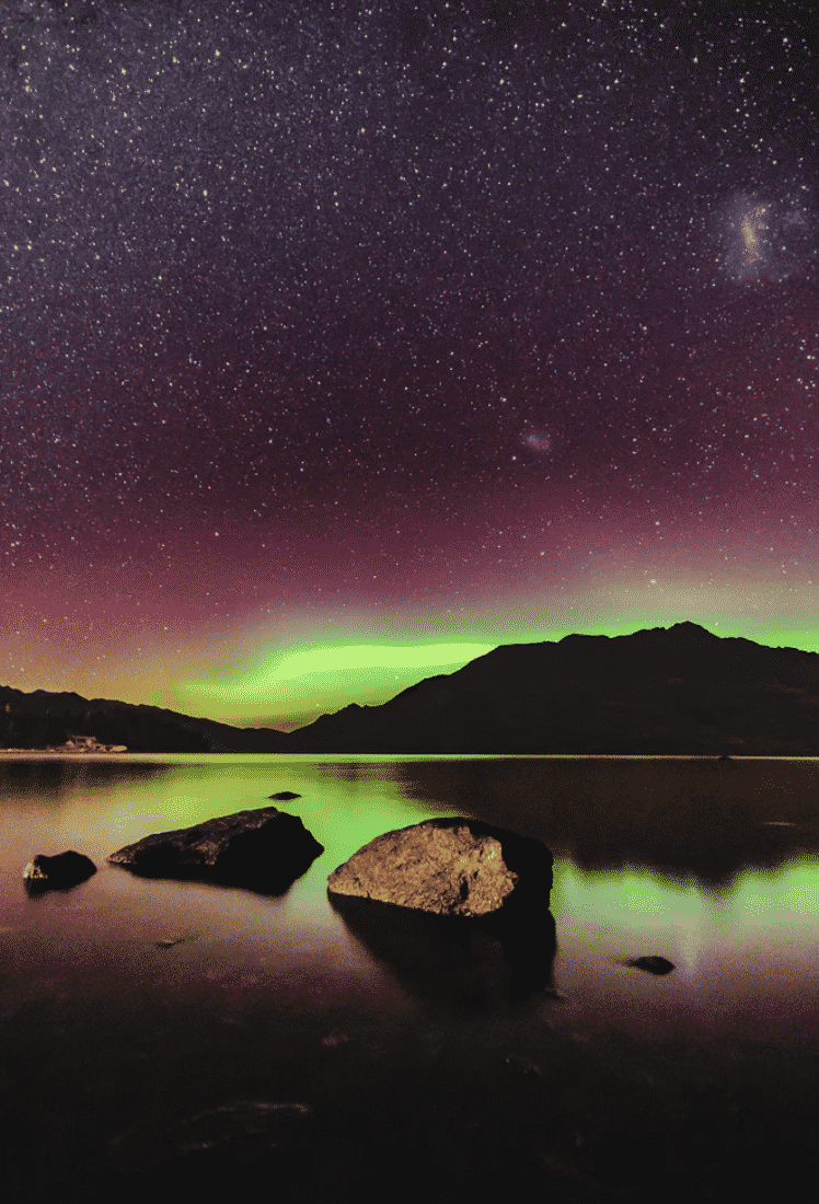 The Southern Lights in NZ